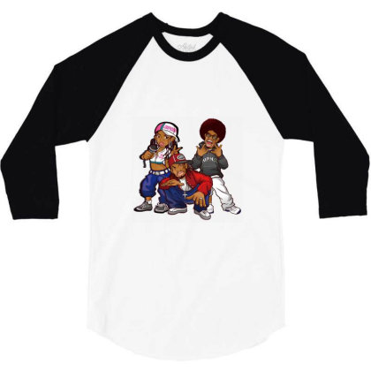 Rapper Black Boys 3/4 Sleeve Shirt Designed By Coşkun