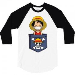 cheeky pirate 3/4 Sleeve Shirt   Artistshot