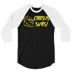 cheese christmas 3/4 Sleeve Shirt | Artistshot