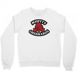 chernarus misfits blanc Crewneck Sweatshirt   Artistshot