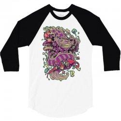 cheshire dragon 3/4 Sleeve Shirt | Artistshot