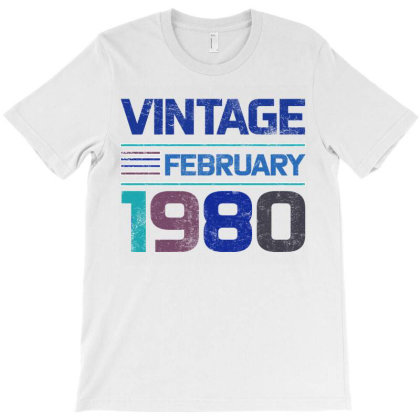 Vintage February 1980 T-shirt Designed By Bettercallsaul