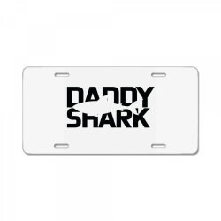 Daddy Shark License Plate | Artistshot