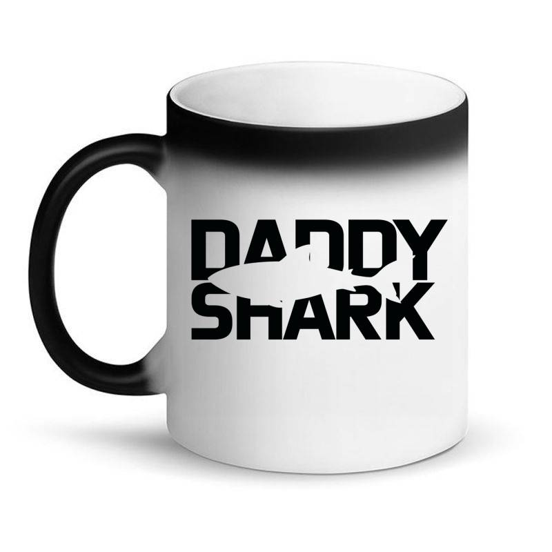 Daddy Shark Magic Mug | Artistshot