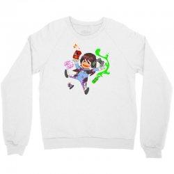 chibi gamer d Crewneck Sweatshirt | Artistshot