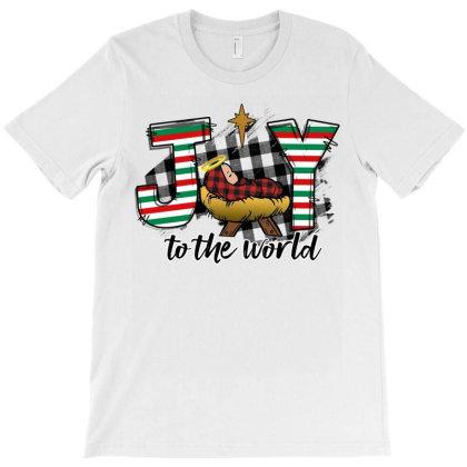Joy To The World Baby Jesus T-shirt Designed By Badaudesign