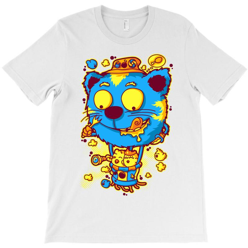 Chickens And Cat (2) T-shirt | Artistshot