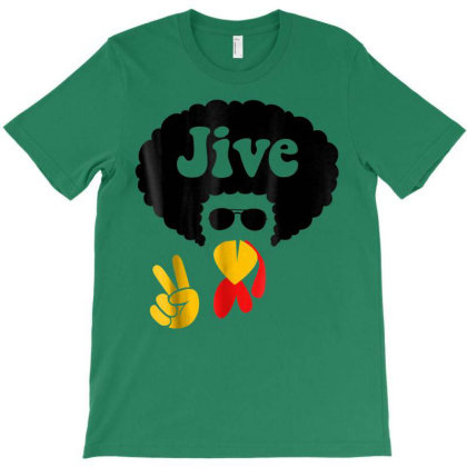 Peace Sign Jive Turkey Face Funny Thanksgiving T-shirt Designed By Mrt90