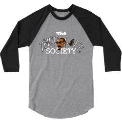 funny the thiug life society 3/4 Sleeve Shirt   Artistshot