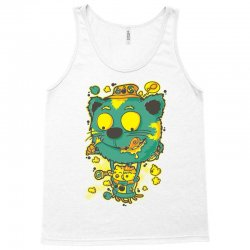 chickens and cat Tank Top | Artistshot