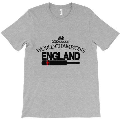 2020 Cricket World Champions England T-shirt Designed By Lotus Fashion Realm