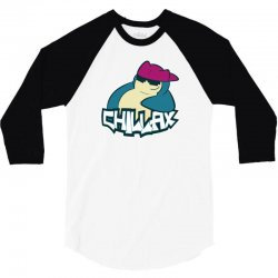 chill to the max 3/4 Sleeve Shirt | Artistshot