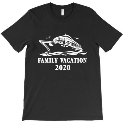 Family Vacation 2020 Family Matching T-shirt Designed By Lotus Fashion Realm
