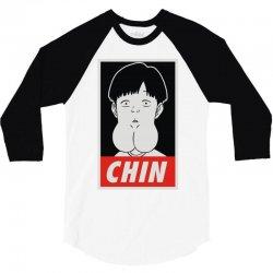 chin boy 3/4 Sleeve Shirt | Artistshot