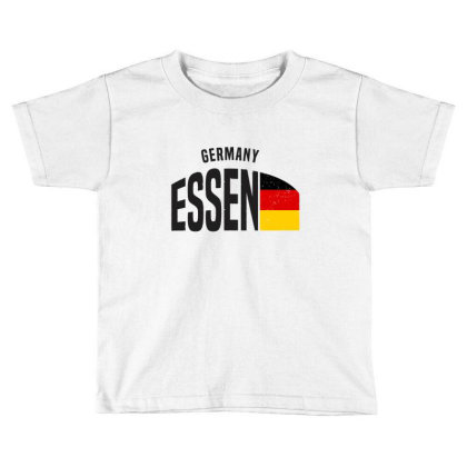 Essen In Germany Toddler T-shirt Designed By Chris Ceconello