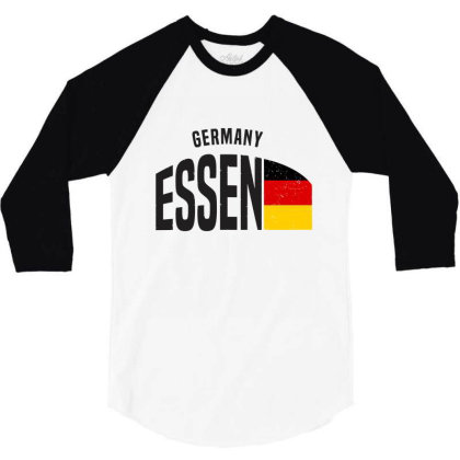 Essen In Germany 3/4 Sleeve Shirt Designed By Chris Ceconello