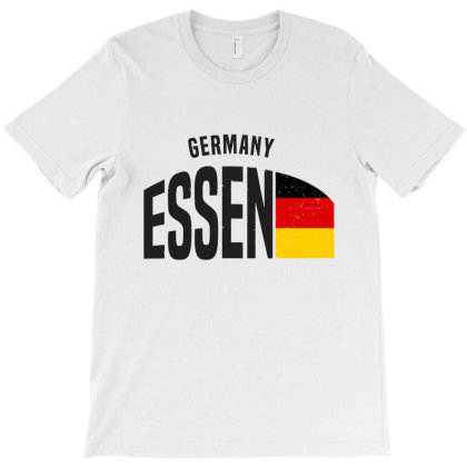 Essen In Germany T-shirt Designed By Chris Ceconello