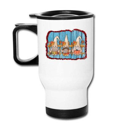 Fall Gnome Travel Mug Designed By Apollo