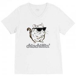 chinchillin V-Neck Tee | Artistshot