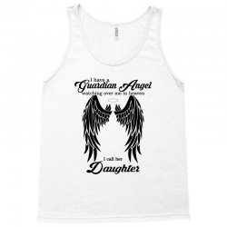 guardian angel daughter Tank Top   Artistshot