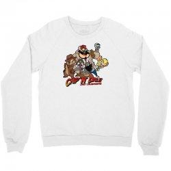 chip n dale last crusaders Crewneck Sweatshirt | Artistshot