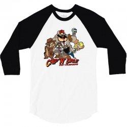 chip n dale last crusaders 3/4 Sleeve Shirt | Artistshot