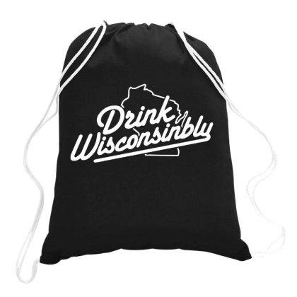 Drink Wisconsinbly Drawstring Bags Designed By Onju12gress