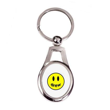 Drew House Silver Oval Keychain Designed By Onju12gress