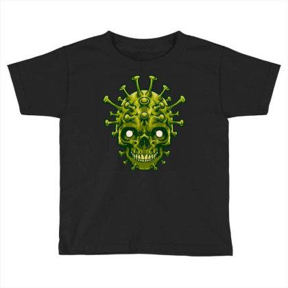Dangerous Virus Toddler T-shirt Designed By Tariart