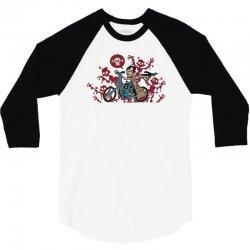 chopper! 3/4 Sleeve Shirt   Artistshot