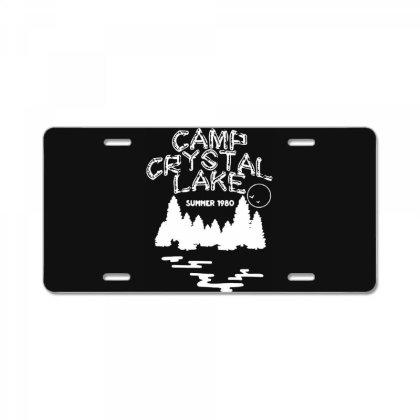 Camp Crystal Lake License Plate Designed By Onju12gress