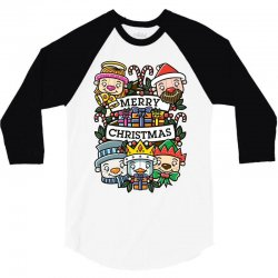 christmas card 3/4 Sleeve Shirt | Artistshot