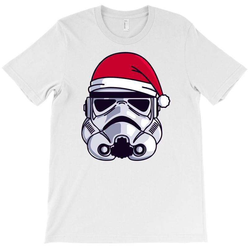 Christmas Stormtrooper Minimalist T-shirt | Artistshot