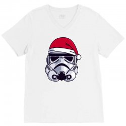christmas stormtrooper minimalist V-Neck Tee | Artistshot