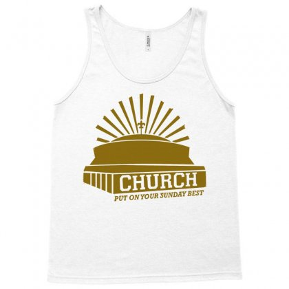 Church Tank Top Designed By Monstore
