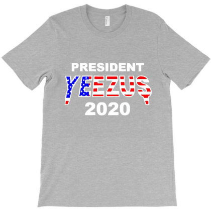 Kanye West Yeezus For President 2020 Campaign Funny Music Ringer T-shirt Designed By Lotus Fashion Realm