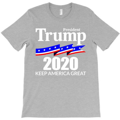 Keep America Great President Trump 2020 T-shirt Designed By Lotus Fashion Realm
