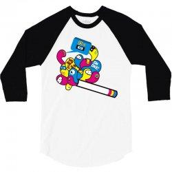 ciggarette 3/4 Sleeve Shirt | Artistshot