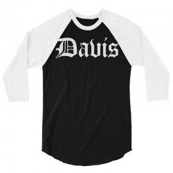 city of davis 3/4 Sleeve Shirt | Artistshot
