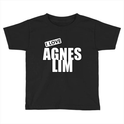 I Love Agnes Lim Toddler T-shirt Designed By Word Power
