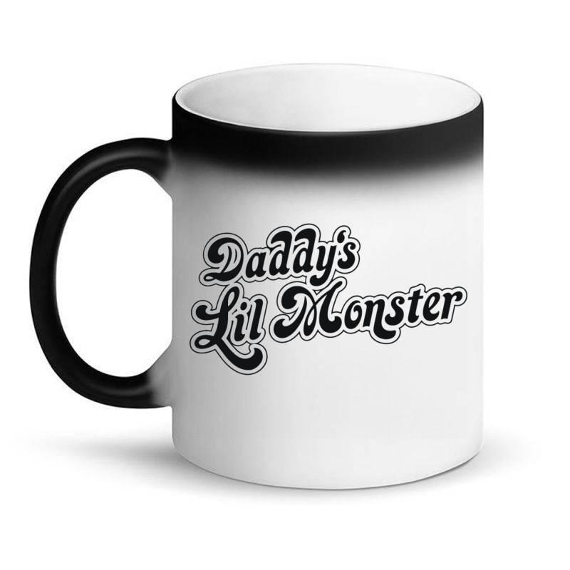 Daddy's Lil Monster Magic Mug | Artistshot