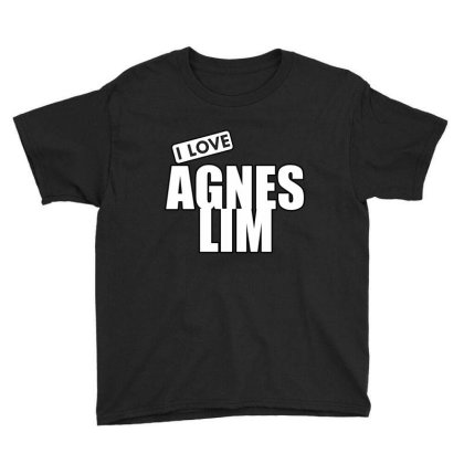 I Love Agnes Lim Youth Tee Designed By Word Power