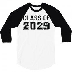 class of 2029 3/4 Sleeve Shirt | Artistshot
