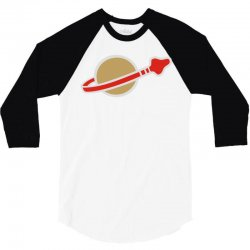 classic space 3/4 Sleeve Shirt | Artistshot