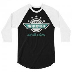 classic 3/4 Sleeve Shirt   Artistshot