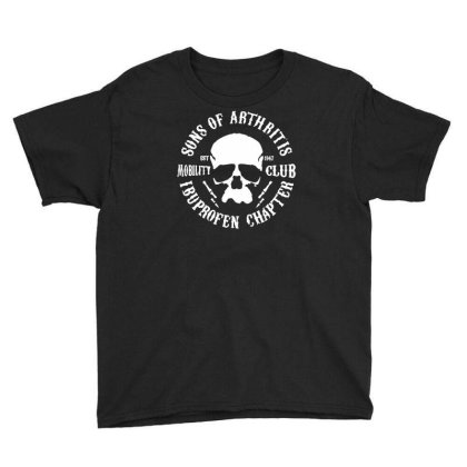 Sons Of Arthritis Funny Soa Parody Youth Tee Designed By Toldo