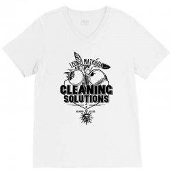 cleaning solutions V-Neck Tee | Artistshot