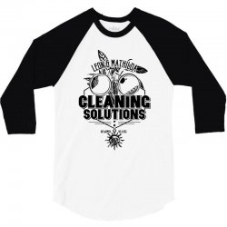 cleaning solutions 3/4 Sleeve Shirt | Artistshot