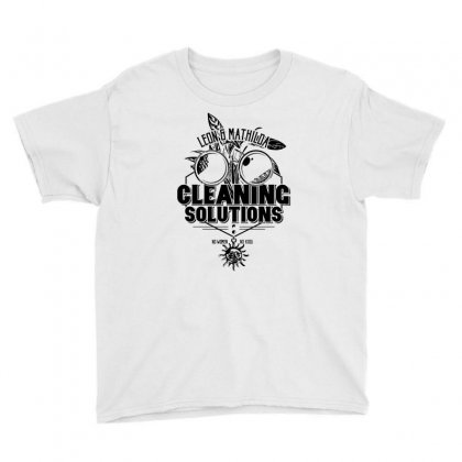 Cleaning Solutions Youth Tee Designed By Monstore