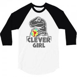 clever gir 3/4 Sleeve Shirt | Artistshot